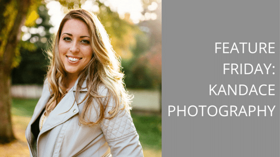 Feature Friday:  Kandace Photography