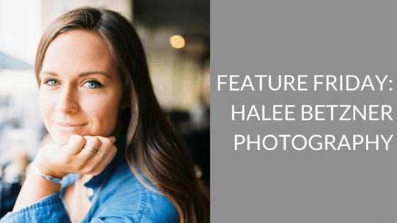 Feature Friday:  Halee Betzner