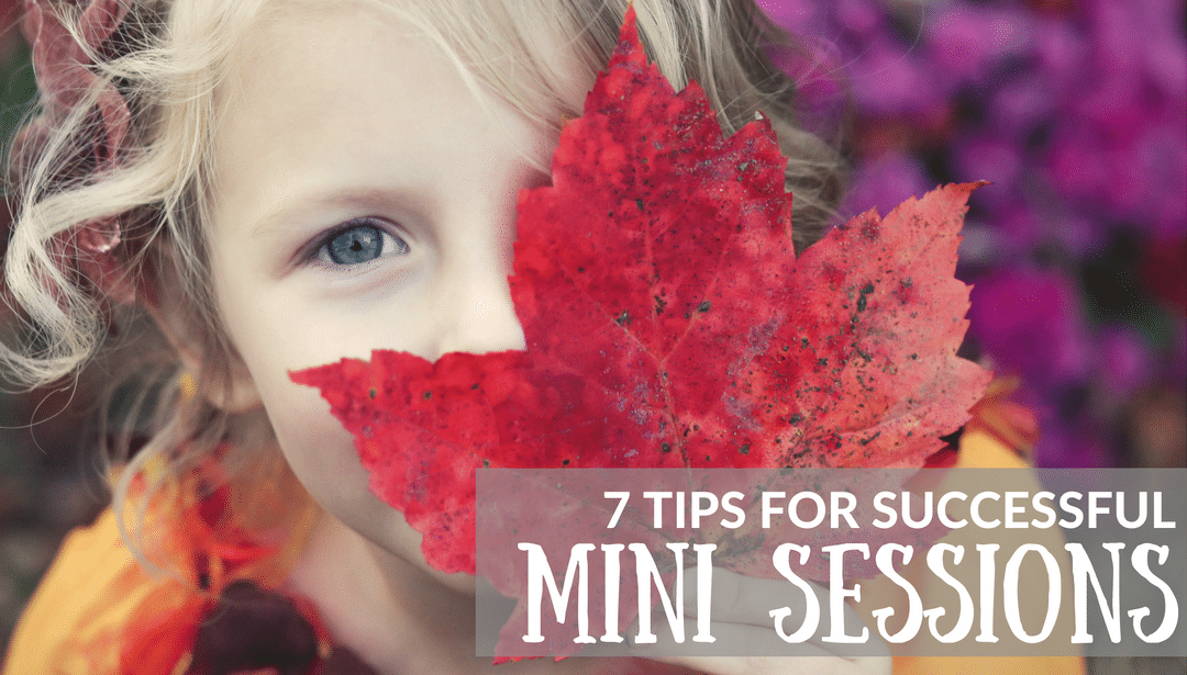 7 Tips to Have Successful Mini Sessions