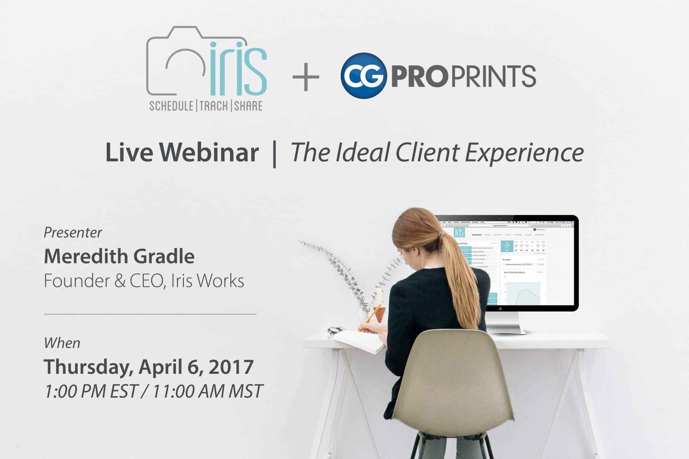 CG Pro Prints + Iris Works Webinar