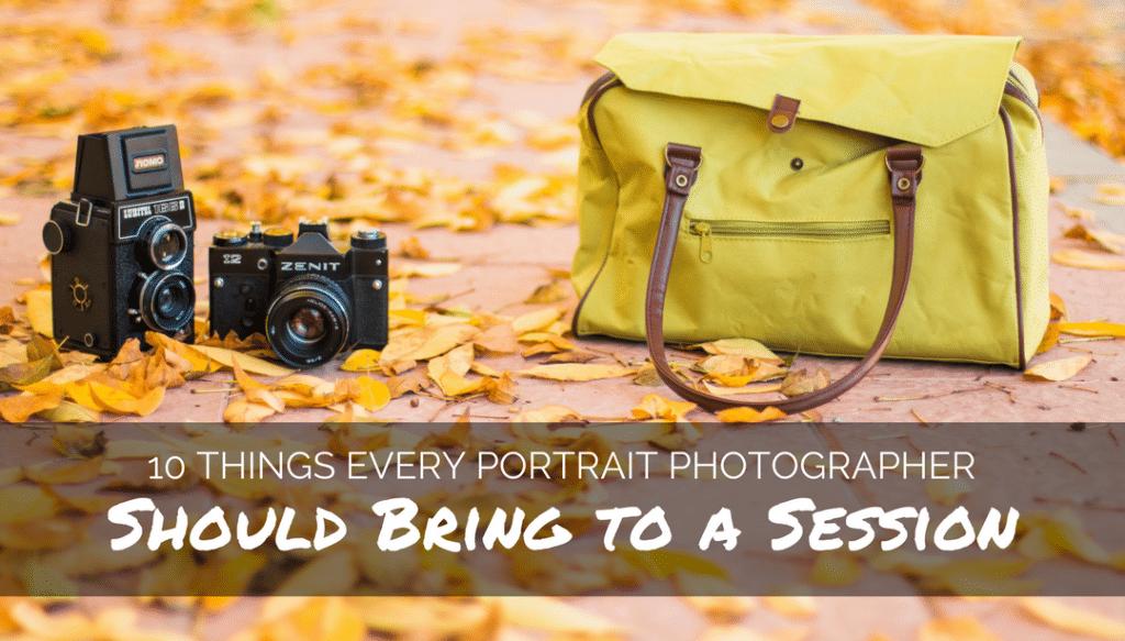Portrait photographer, session, bring, blanket, cards