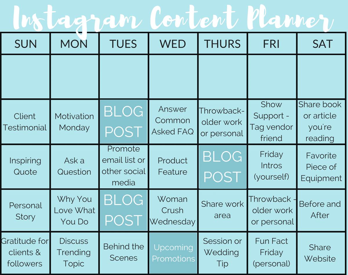 instagram, content, planner, ideas, posts