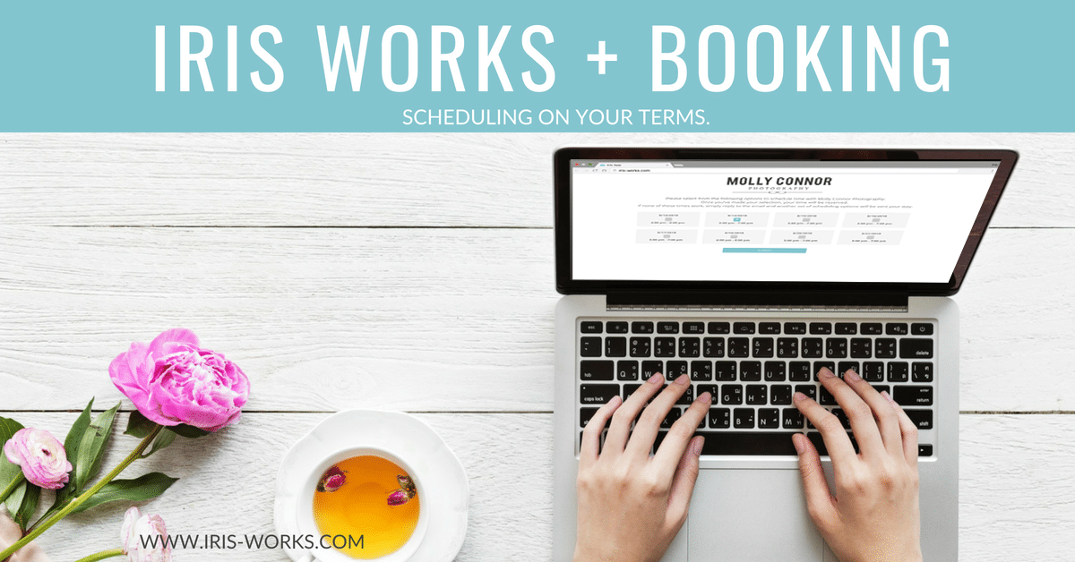 IRIS WORKS + BOOKING HAS ARRIVED!