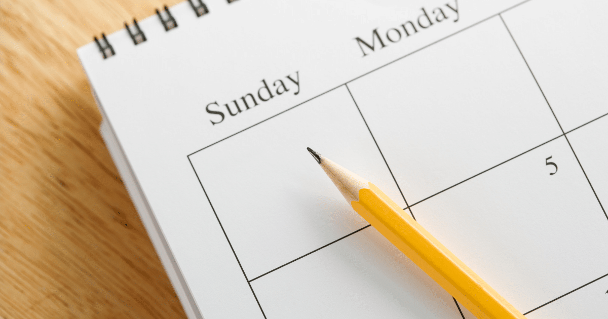 How using a marketing calendar will make your life easier (and happier).