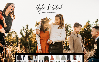 Have you heard? Style & Select will change your photography game.