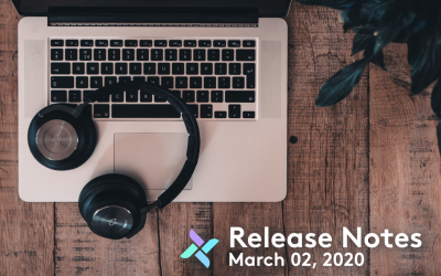 Release Notes: March 02, 2020