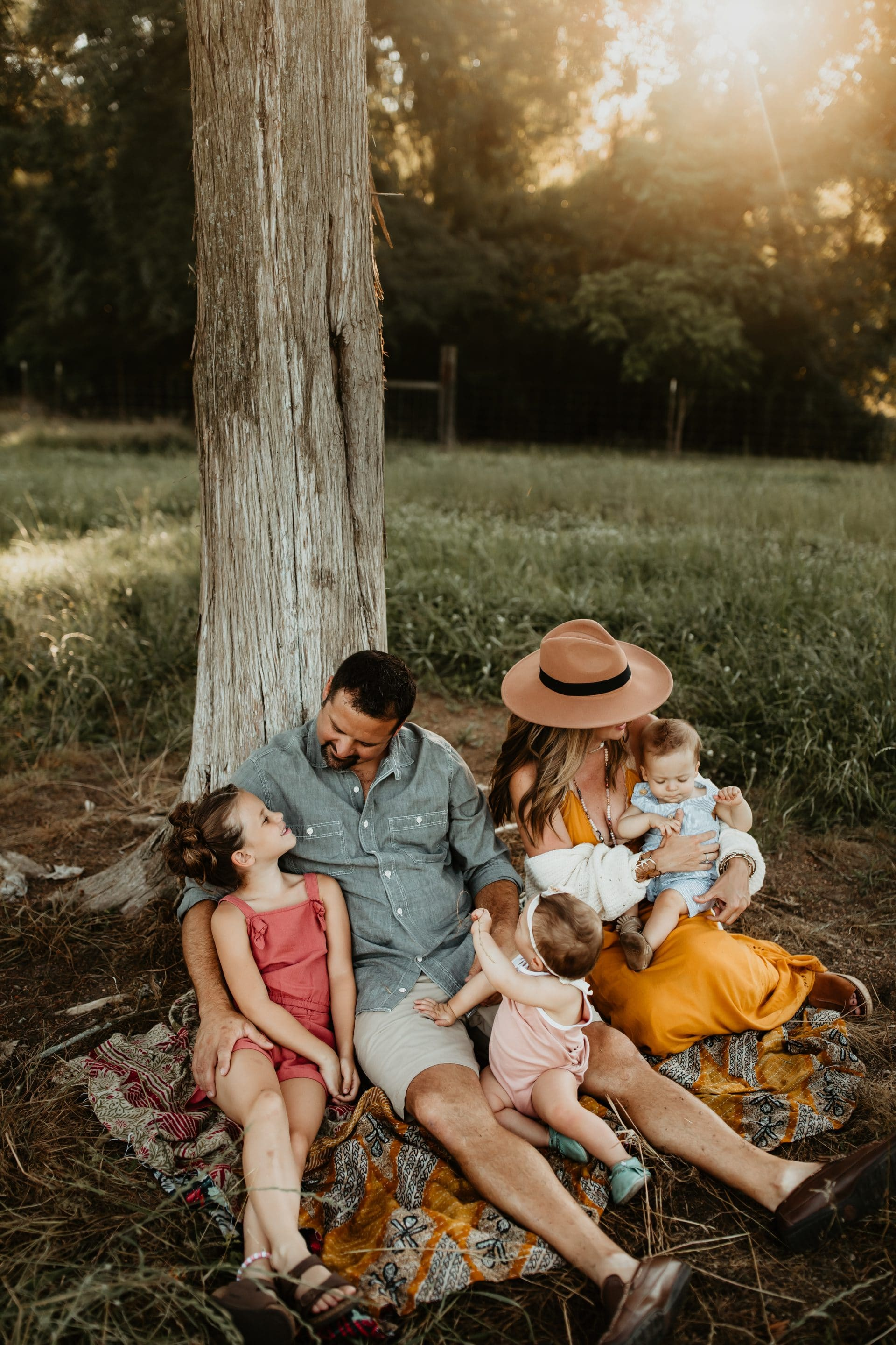 A family photoshoot from Jenny Leigh Smith Photography