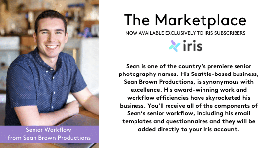 Sean Brown is one of the country's premiere senior photography names.