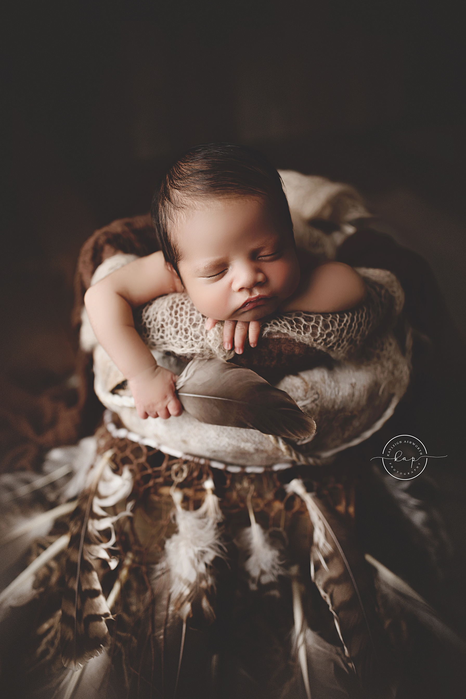 A newborn baby photo from Kayleigh Ashworth