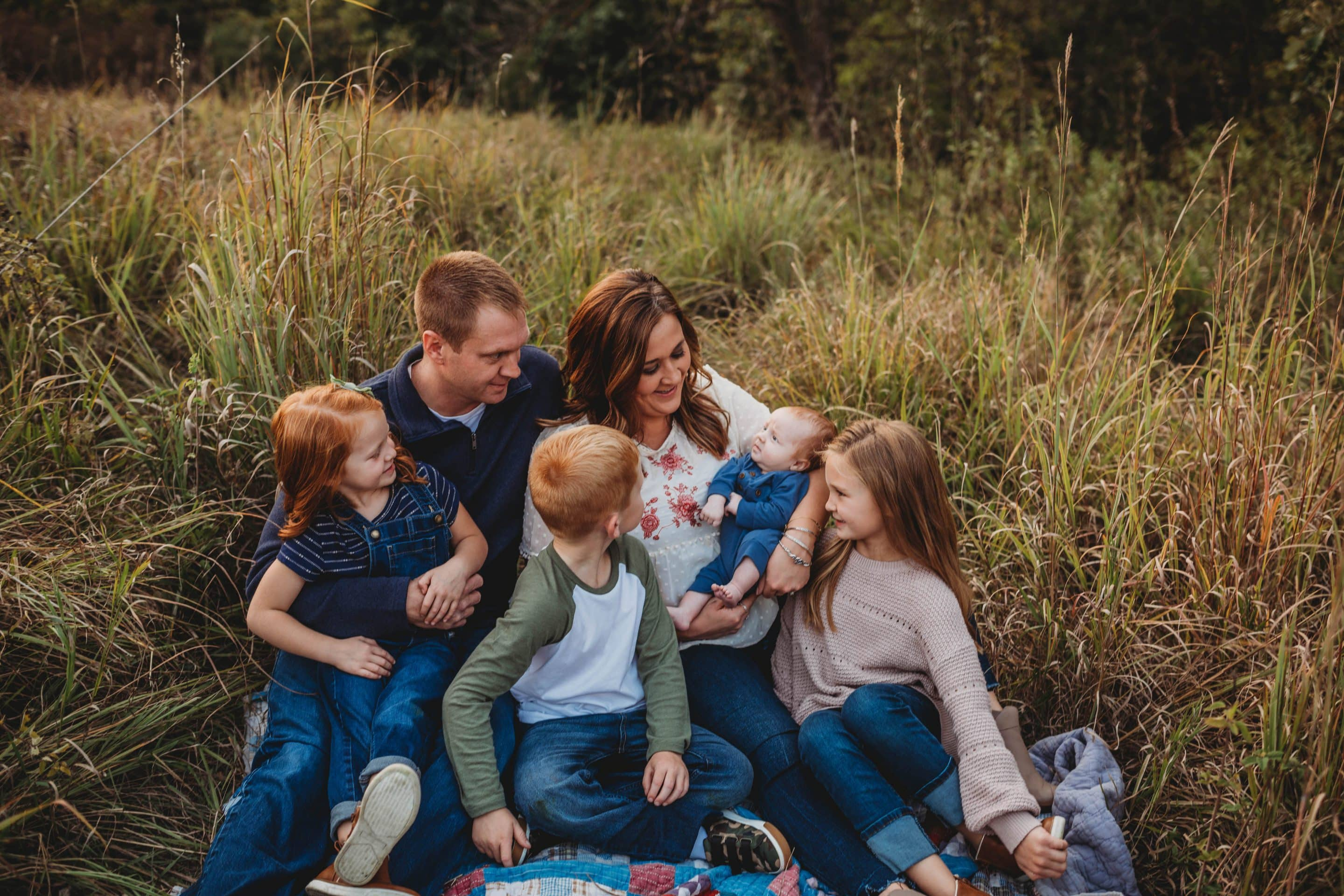 family photo by lindsey willis photography