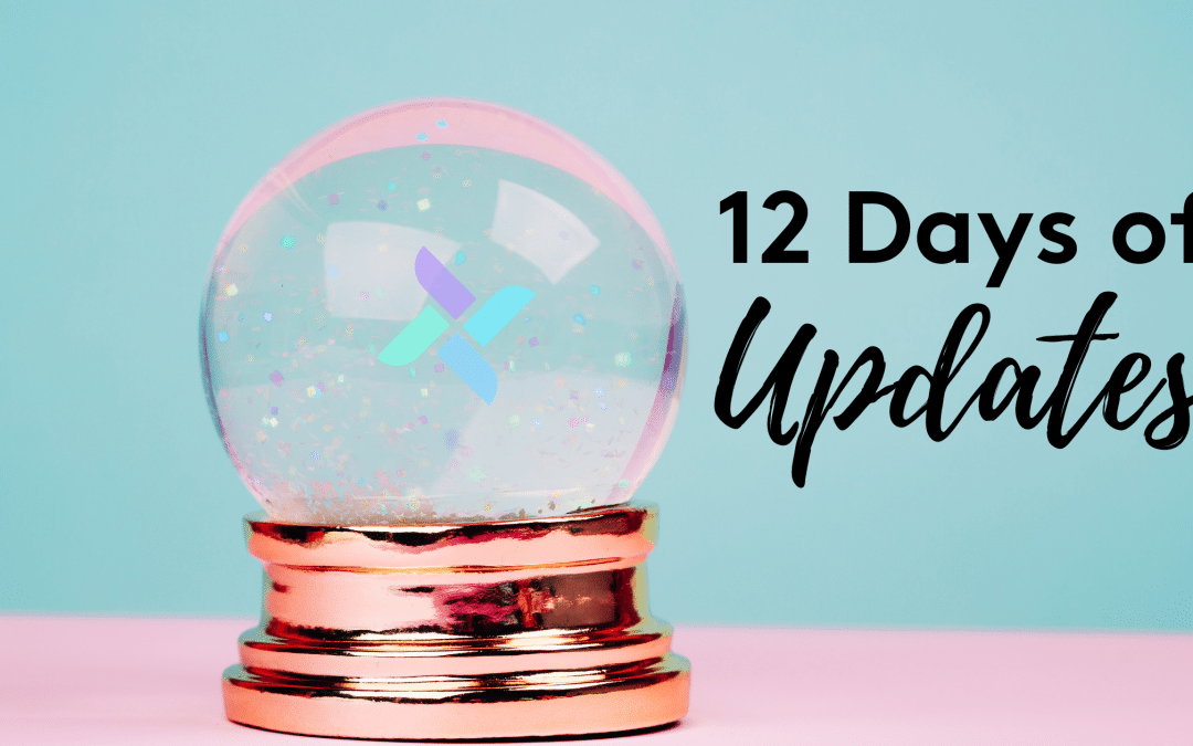 12 Days of Updates
