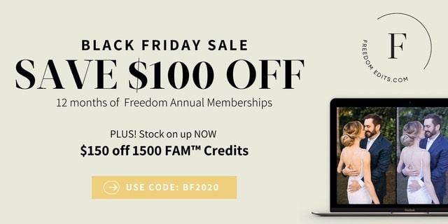 Freedom Edits Sale