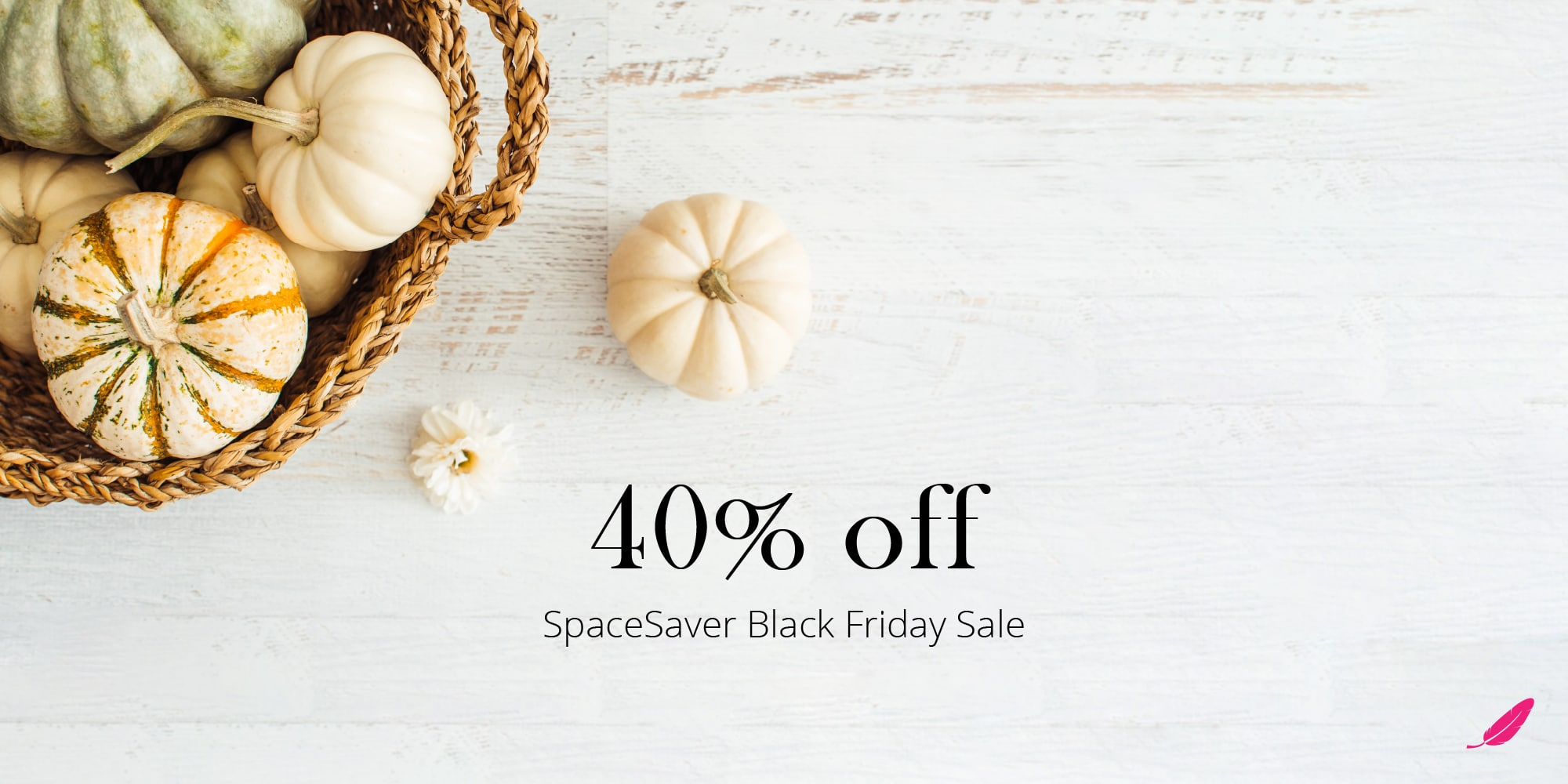40% off SpaceSaver sale