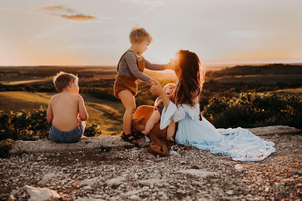family portrait by jesse salter